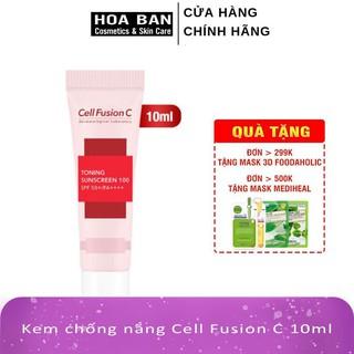 [MINI] Kem Chống Nắng Cell Fusion C ( Hồng ) 10ml
