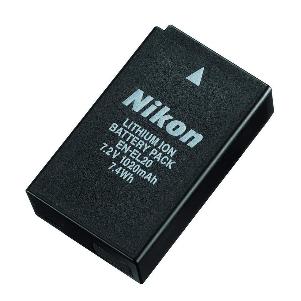 Pin Nikon EN-EL20 ( EN EL20 ) dùng cho Nikon 1 AW1, Nikon COOLPIX A, Nikon 1 J1, Nikon 1 S1, Nikon 1 J3, Nikon 1 J2, Nik