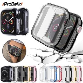 Ốp Tpu Mềm Trong Suốt Bảo Vệ Màn Hình 360 Độ Cho Apple Watch 6 Se 5 4 3 2 1 42mm 38mm Iwatch 4 3 44mm 40mm