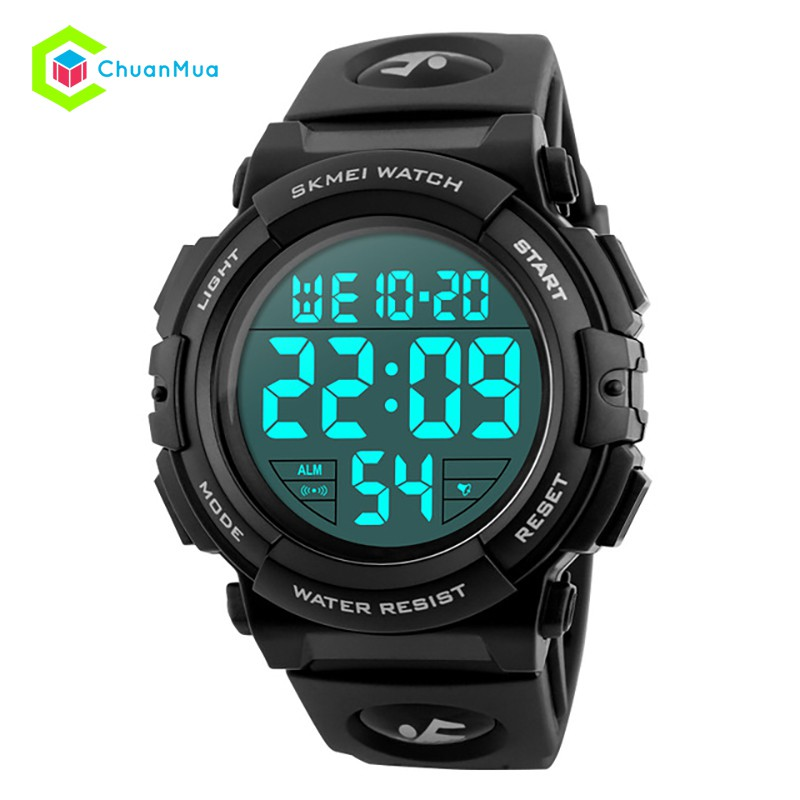 Đồng hồ Điện Tử Skmei 1258 SKWATCH Size Lớn DHA487 - Đen - 2493259 , 1070165586 , 322_1070165586 , 359000 , Dong-ho-Dien-Tu-Skmei-1258-SKWATCH-Size-Lon-DHA487-Den-322_1070165586 , shopee.vn , Đồng hồ Điện Tử Skmei 1258 SKWATCH Size Lớn DHA487 - Đen