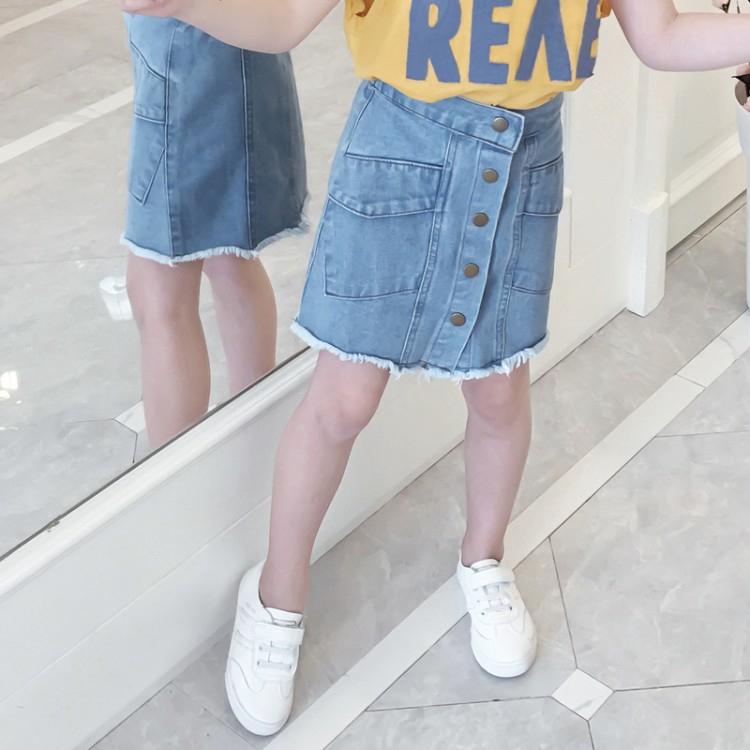irregular fold  Girl skirt Kid's Fashion  Selling  Small dress  Tide baby  skirt  Child  skirt