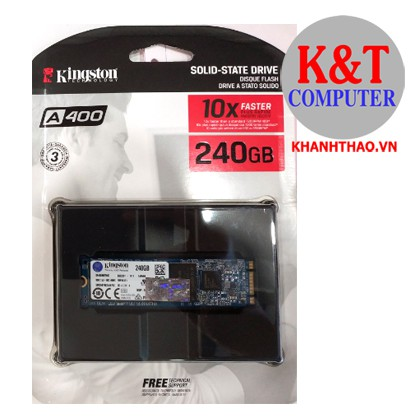 Ổ cứng SSD Kingston A400 240GB M.2 2280 SATA 3-SA400M8/240G