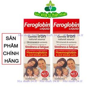Feroglobin Liquid.Bổ Sung Sắt Giúp Phòng Ngừa Thiếu Máu Cho Bé Từ 3 Tháng Tuổi thumbnail