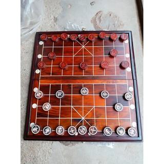 Bộ bàn cờ gỗ trắc bàn 50-50 quân 3,5