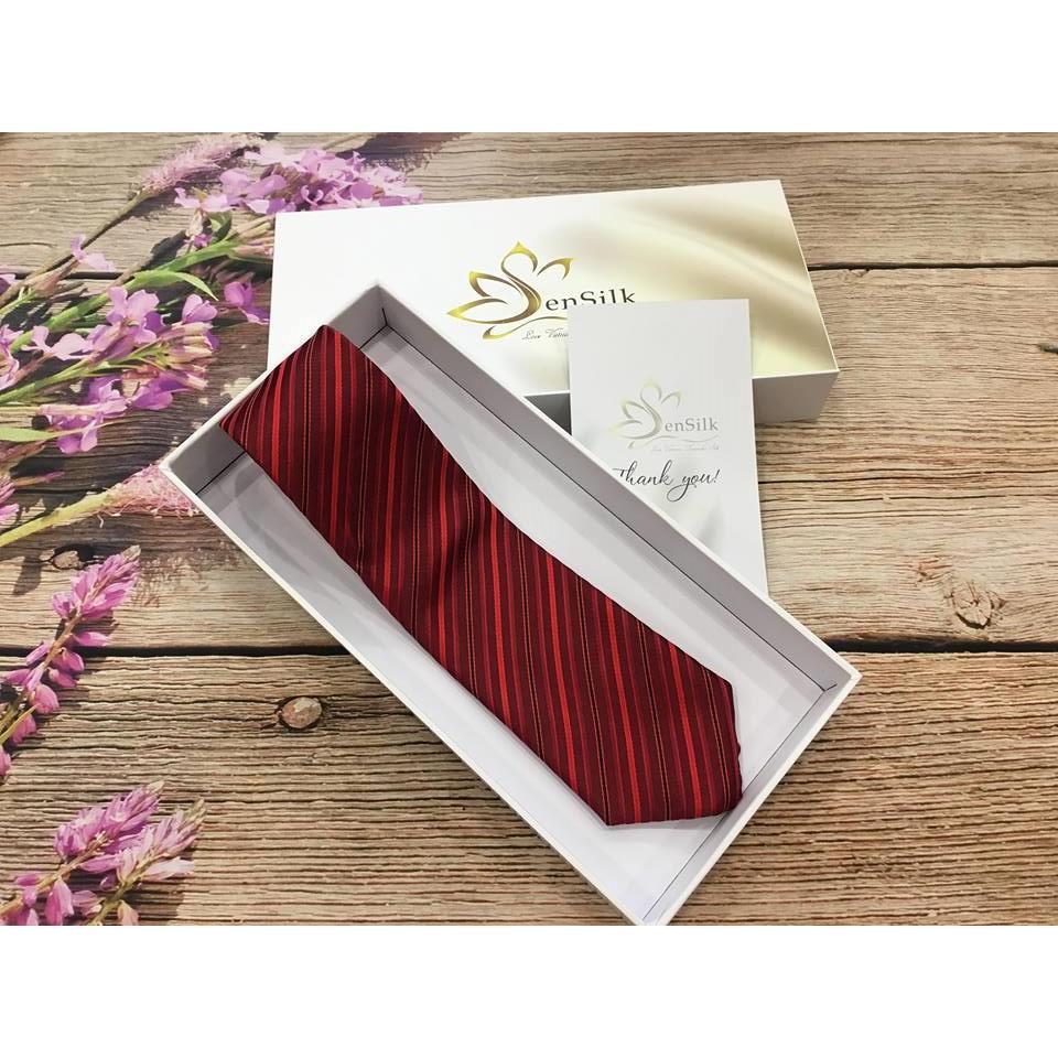 Cà Vạt Lụa SenSilk MS03 Cực Xinh