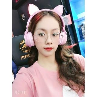 Tai nghe mèo hồng chính hãng Headphone Bluetooth HOCO W27 new 2020