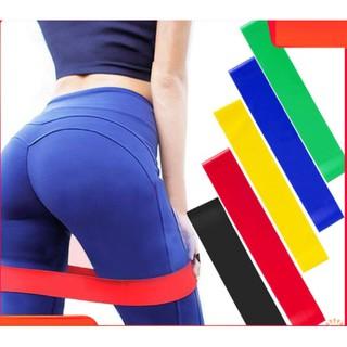Dây miniband cao su tập gym, dây kháng lực tập gym, dây mini band tập mông, chân ,đùi