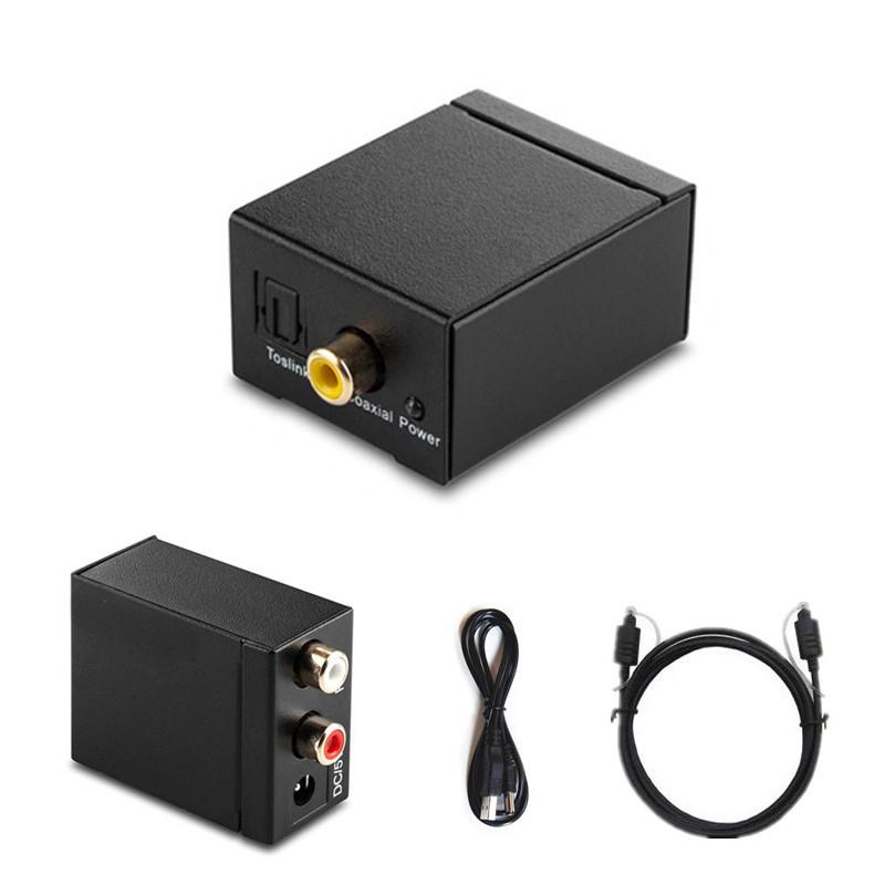 Bộ chuyển đổi âm thanh RCA/ cáp kỹ thuật số Toslink/ cáp đồng trục sang Analog L/R - 22192478 , 1066534384 , 322_1066534384 , 163811 , Bo-chuyen-doi-am-thanh-RCA-cap-ky-thuat-so-Toslink-cap-dong-truc-sang-Analog-L-R-322_1066534384 , shopee.vn , Bộ chuyển đổi âm thanh RCA/ cáp kỹ thuật số Toslink/ cáp đồng trục sang Analog L/R
