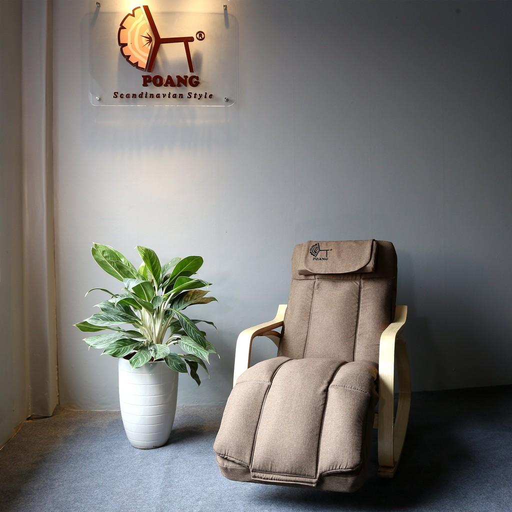Ghế Poang massage - ghế thư giãn bập bênh đệm massage