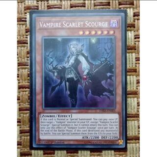 Vampire Scarlet scourge DASA-EN005 Secret rare