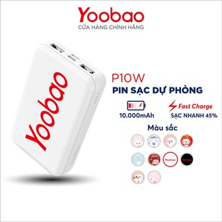 Pin Sạc dự phòng mini Yoobao P10W 10000mAh
