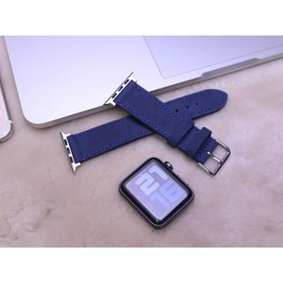 Dây đeo thay thế Apple Watch 1,2,3,4,5,6 Xanh Navy handmade