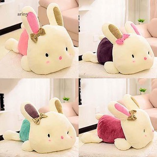 ♞1Pc Kawaii Rabbit Doll Soft Plush Toy Cartoon PP Cotton Bedroom Car Decor