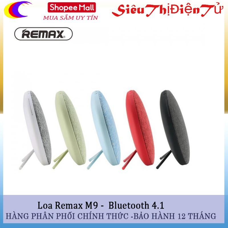 Loa bluetooth Remax RB-M9 kết nối 4.1 hàng chuẩn - 2927027 , 1249736449 , 322_1249736449 , 500000 , Loa-bluetooth-Remax-RB-M9-ket-noi-4.1-hang-chuan-322_1249736449 , shopee.vn , Loa bluetooth Remax RB-M9 kết nối 4.1 hàng chuẩn