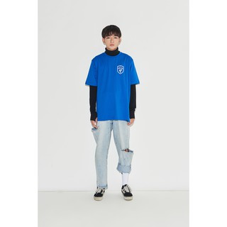 Áo Rebel Nerd - Badge Logo Tee Blue
