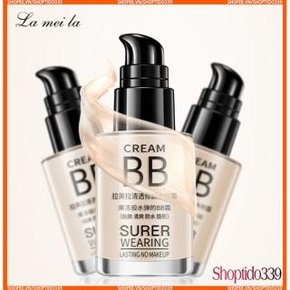 Kem Nền Siêu Mịn Tự Nhiên Lameila BB Cream Super Wearing Lasting No Makeup 30ML No.1001