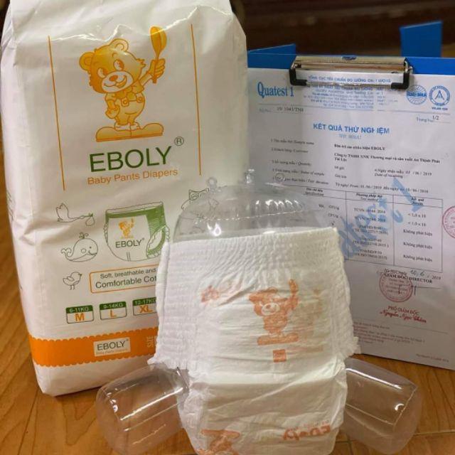 Bỉm Tã Quần Eboly M/100 L/100 Xl/100 Xxl/100 Xxxl/100