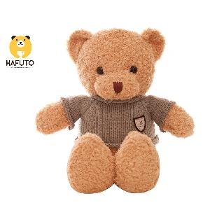 Gấu Teddy head and tales lông chỉ áo len HAFUTO size 70cm