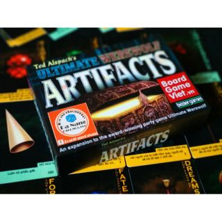 BOARDGAME MA SÓI ULTIMATE ARTIFACTS VIỆT HOÁ