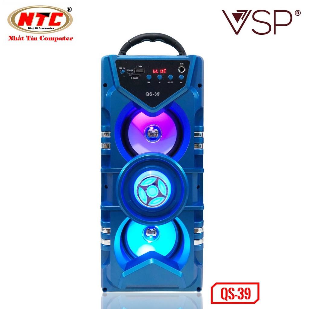Loa bluetooth hát karaoke Vision VSP QS-39 có đèn led - Hãng phân phối chính thức