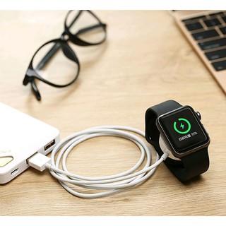 Sạc từ tính Apple Watch 1/2/3/4/5/6 có dây 1 mét