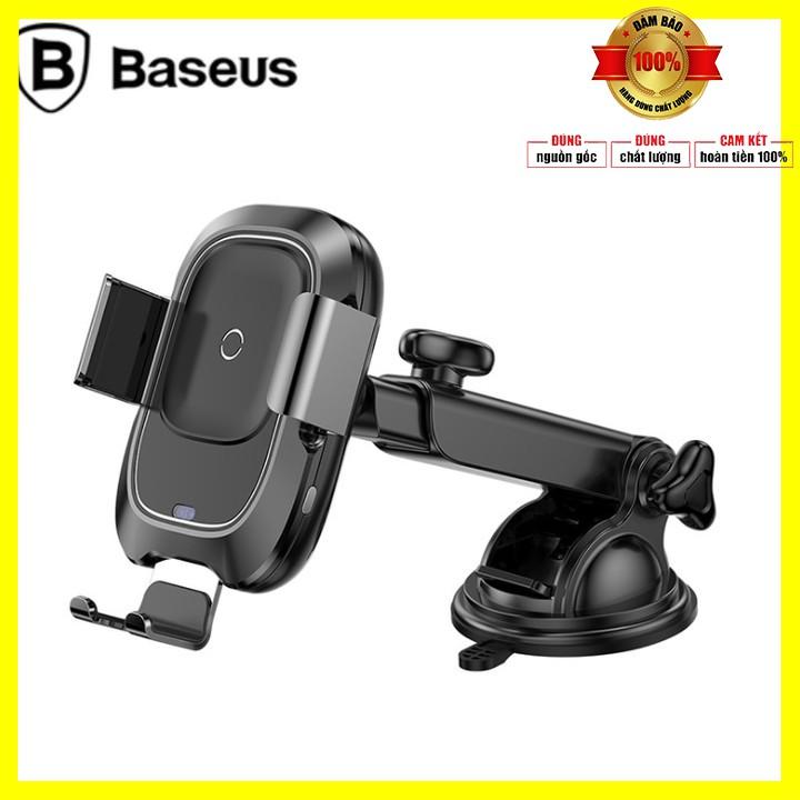 Giá đỡ điện thoại kiêm sạc không dây nhãn hiệu Baseus cao cấp WXZN-B01 - Bảo hành 6 tháng