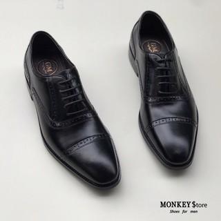 Giày tây công sở, giày dây Da bò cao cấp - Hàng thủ công phun màu ( Mã GTD03 - Ảnh tự chụp kèm video ) thumbnail