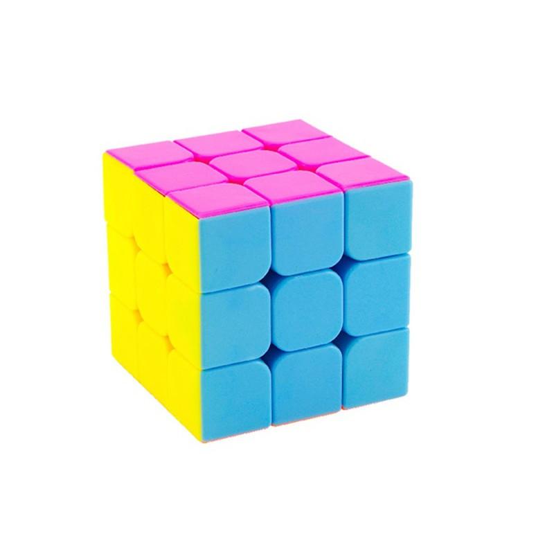 Rubik 3x3x3 Đẹp, Xoay Trơn, Không Rít, Độ Bền Cao