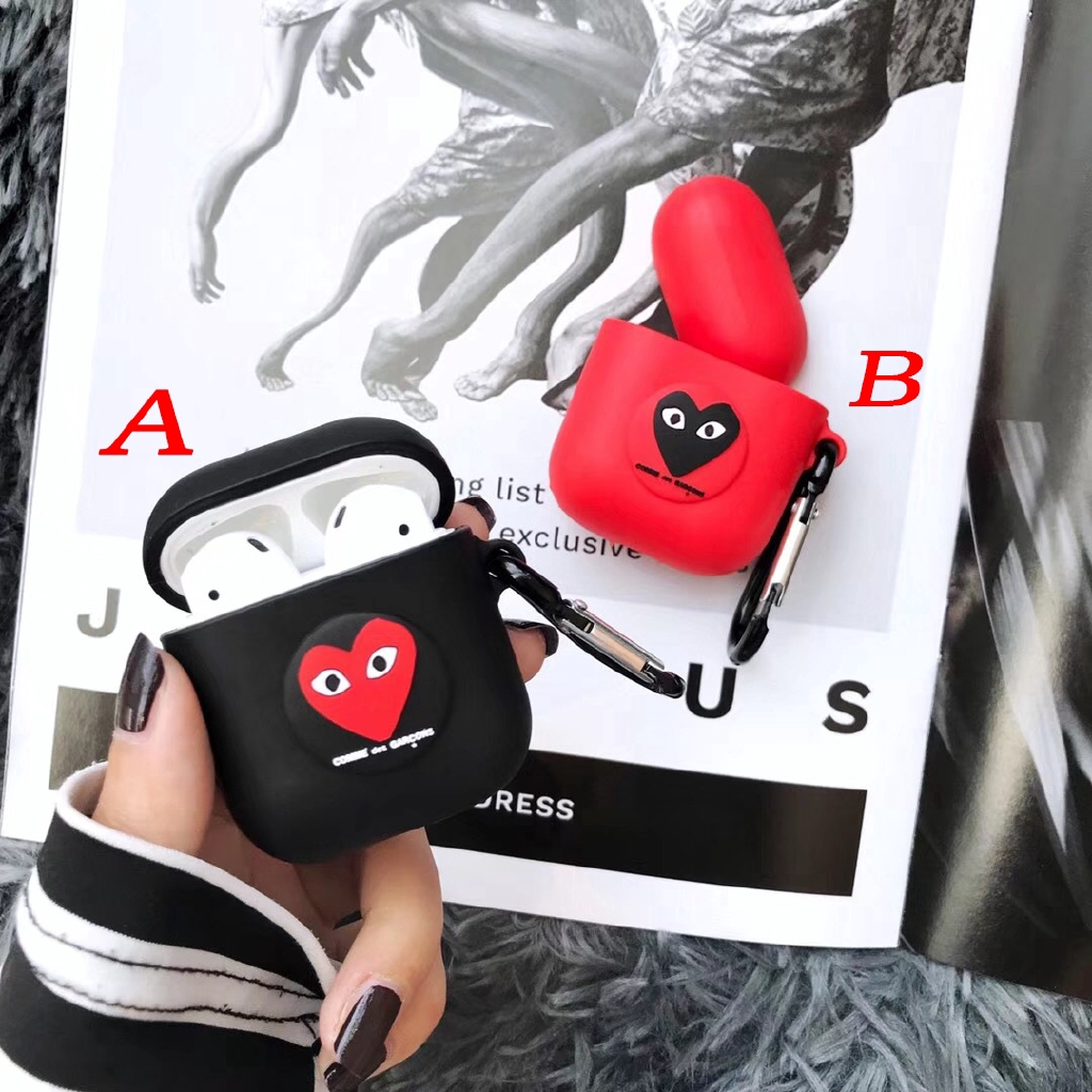 Jordan Polo Shirt 23 Shape Cover For Airpods 1/2 CDG Play Airpods Case Silicone