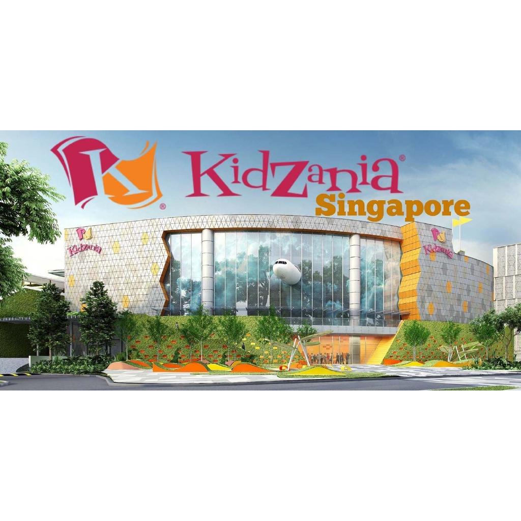 Toàn Quốc [E-voucher] Vé KidZania Singapore