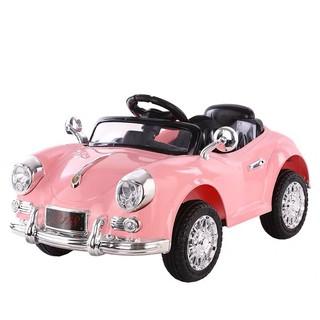 Ô tô xe điện đồ chơi đạp ga KIDVIET-PRO L118 cho bé gái vận động ( Đỏ-Xanh-Hồng-Hồng nhạt)