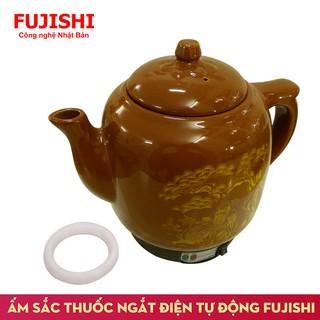 Ấm sắc thuốc điện gốm bát tràng Fujishi 3.2 lít HK-066 (Nhiều màu)