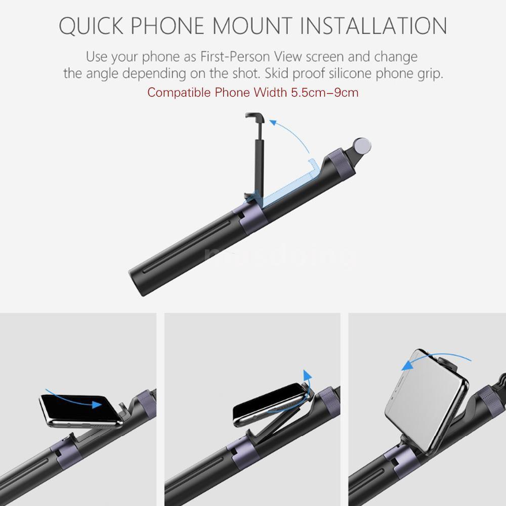 Bộ giá đỡ điện thoại cầm tay 3 chân chuyên dụng cho máy quay DJI OSMO