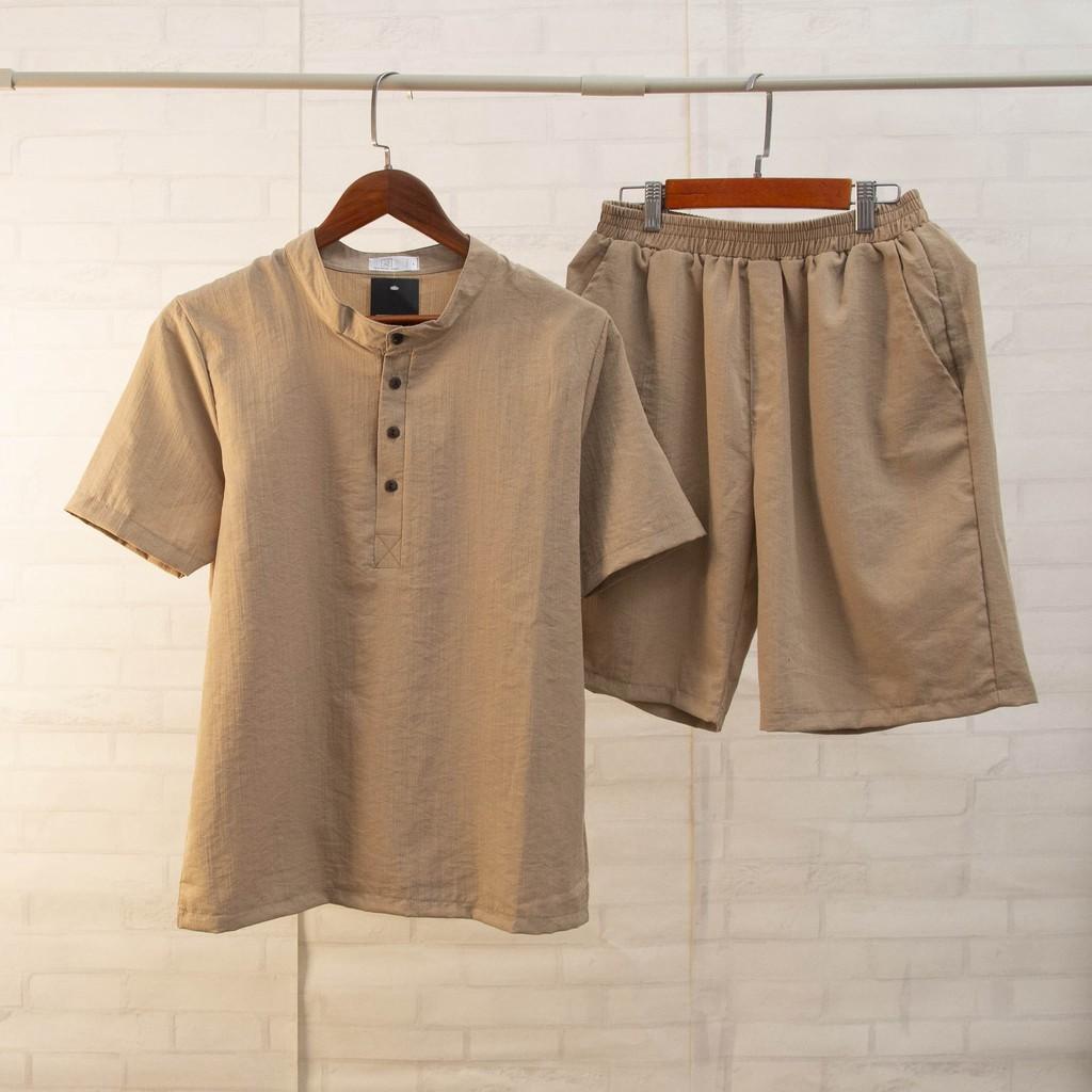 Quần áo đũi nam chất vải đũi thái loại dày đẹp hàng hot trend (CAM KẾT HÀNG ĐẸP)