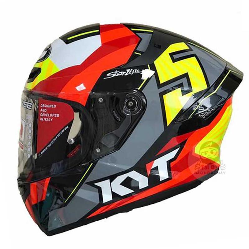 [CHÍNH HÃNG] Mũ bảo hiểm Fullface KYT TT Course Jaume Masia