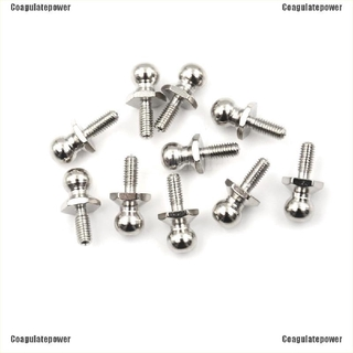C-power~~10Pcs Hsp Ball Head Screw For Rc 1/10 Model Car Buggy Truck Spare Parts