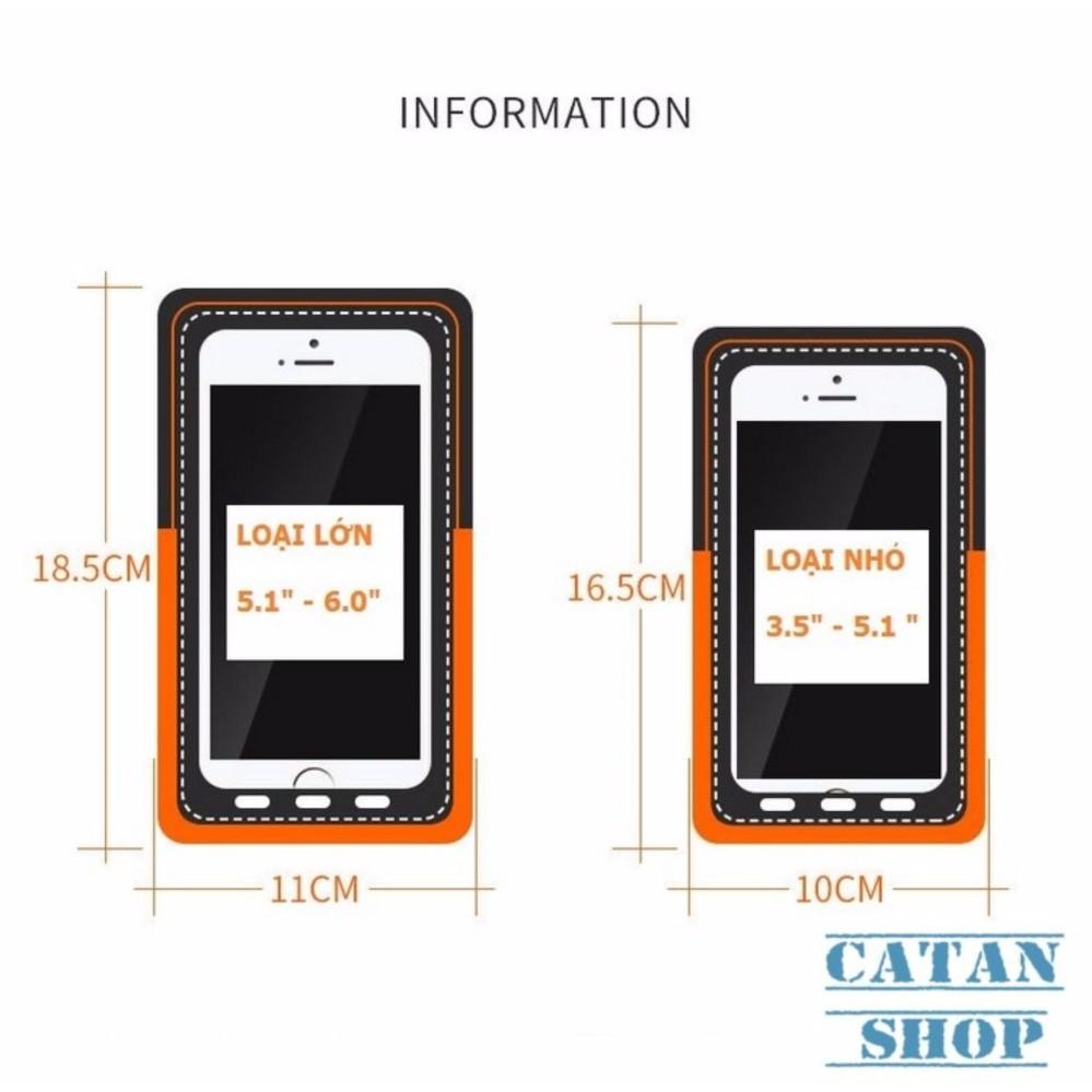 Bao, Túi điện thoại đeo tay chạy bộ, thể thao chống sốc điện thoại 5,5 inch Iphone 6 , 7, 8 TT02-BDTD55