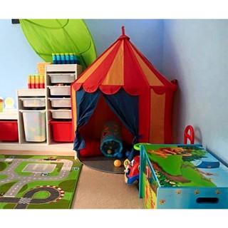 Lều Rạp Xiếc Ikea Circus-Đỏ dưa hấu