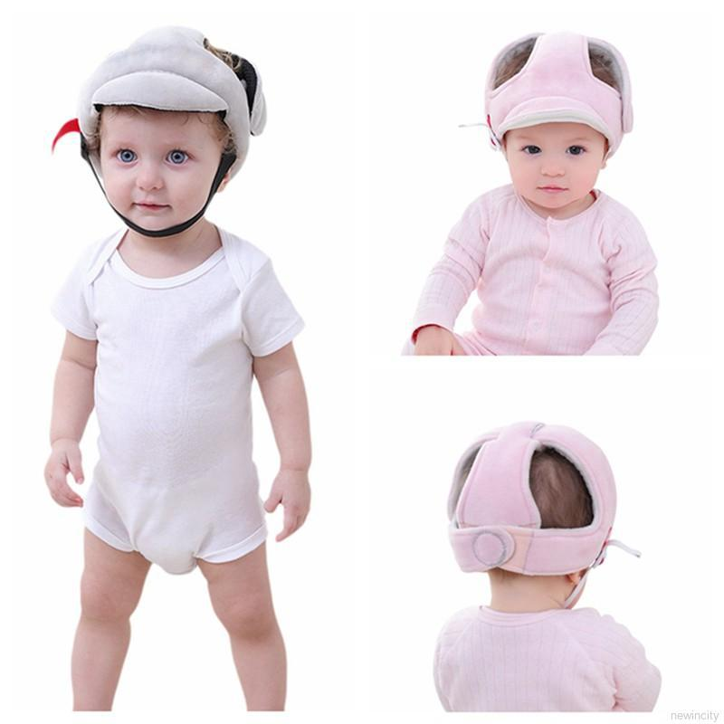 Mũ bảo hiểm sợi vải mềm mại dễ chịu cho bé trai và gái