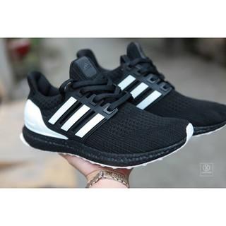 [Anh+ Video]Sneaker Ultra boost 4.0 màu đen sọc trắng thumbnail