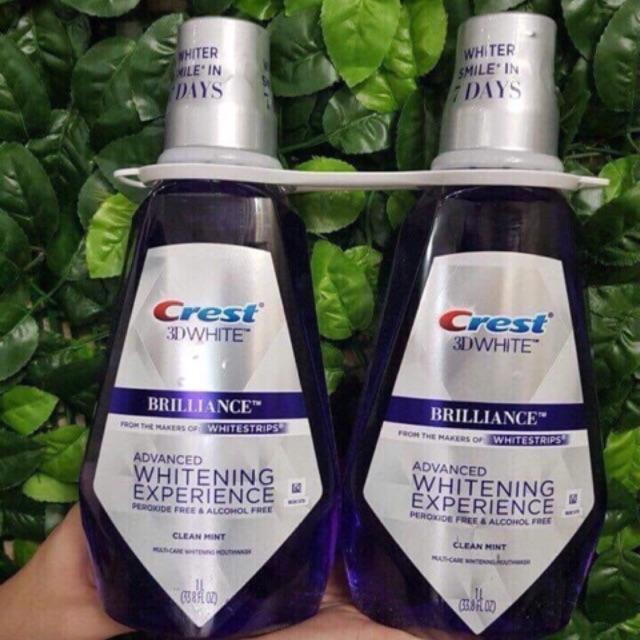 Nước súc miệng crest 3d (1chai)