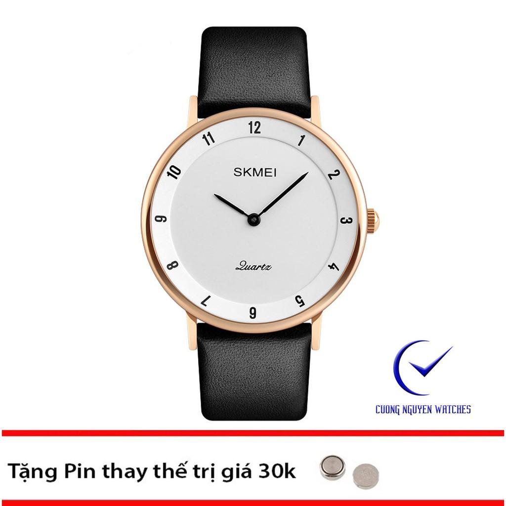 Đồng hồ nam Skmei 1263 chính hãng siêu mõng phong cách doanh nhân - SK19