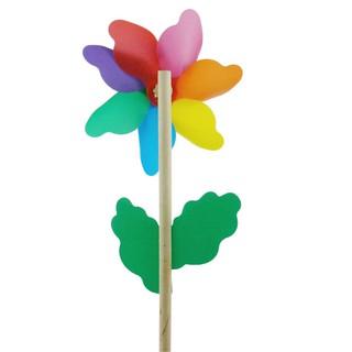 Windmill Windmill Toy Funny Wood Rainbow Beginning Ability