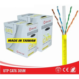 [Cáp mạng Golden Link PLATINUM CAT.6 UTP] thumbnail