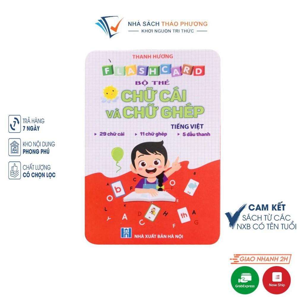 Flashcard bộ thẻ Chữ cái và chữ ghép Tiếng Việt Việt Hà cho bé