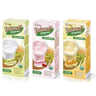 1 thùng sữa gạo Thái Lan 4Care Balance Organic (3 vị không đường, dâu, vani) thumbnail