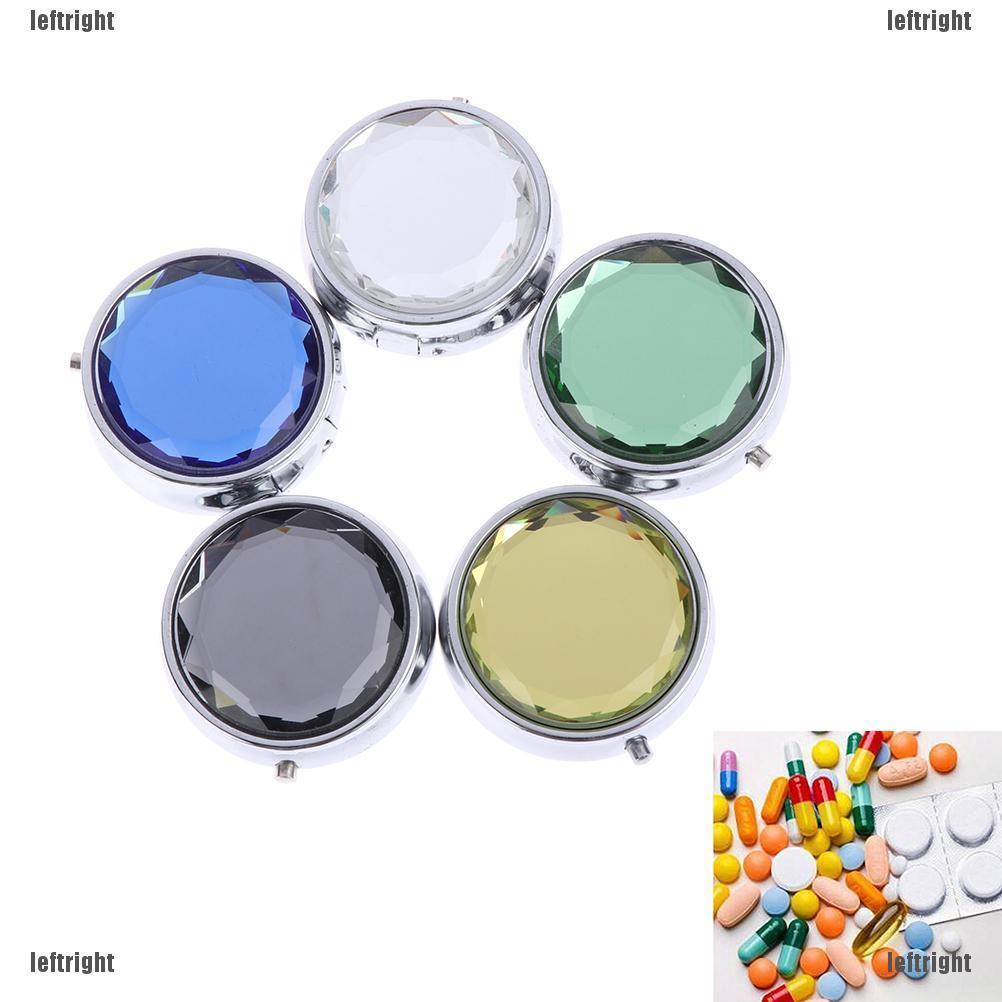 Hộp đựng thuốc 3 ngăn có gương kích cỡ bỏ túi - 14064219 , 2155193074 , 322_2155193074 , 36600 , Hop-dung-thuoc-3-ngan-co-guong-kich-co-bo-tui-322_2155193074 , shopee.vn , Hộp đựng thuốc 3 ngăn có gương kích cỡ bỏ túi