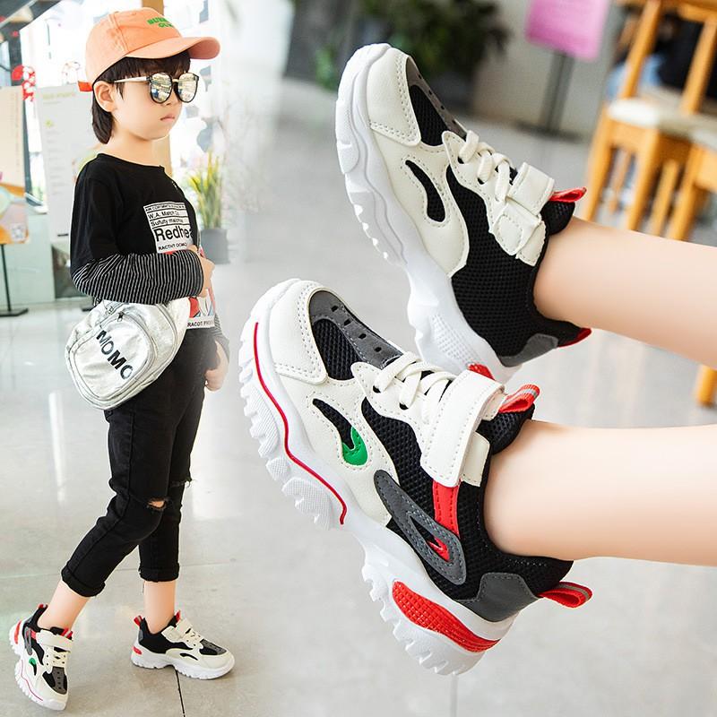 Giày thể thao bé trai bé gáicao cấp từ 3 – 16 tuổi siêu nhẹ đàn hồi kháng khuẩn kiểu dáng thời trang G28