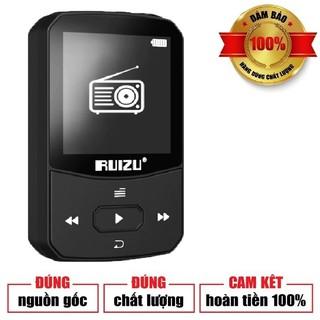 [HÀNG CHÍNH HÃNG] MÁY NGHE NHẠC BLUETOOTH RUIZU X52 BỘ NHỚ TRONG 8GB - MÁY NGHE NHẠC MP3 BLUETOOTH 4.0 KHÔNG DÂY thumbnail