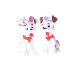 10pcs Cute Animal Dog Micro World Ornaments Gardening House Landscape Fairy